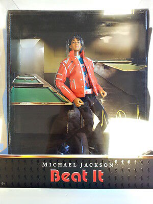 "Michael Jackson ""Beat it"" action figure, Playmates su progetto Hot Toys RARA NEW"