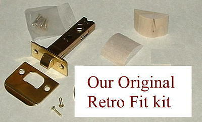 Retrofit Brass Kit-install Antique Knobs in Any Doors by Rousso's Reproductions