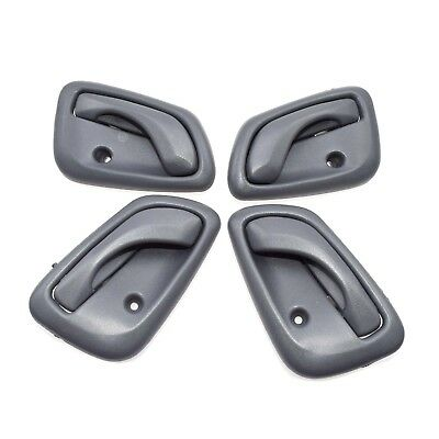 New Gray inside Interior Door Handle Right and Left Fit For Chevy Tracker 99-04