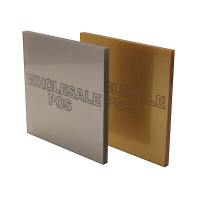 Metallic Gold & Silver Sheet Of 3Mm Thick Cast Acrylic Made In The Uk By Perspex