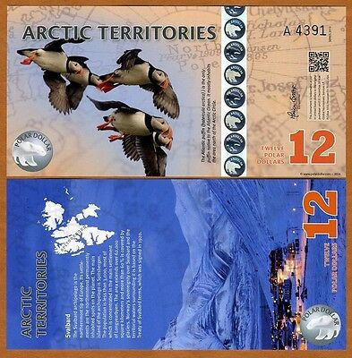 Arctic Territories, $12, 2014, Polymer, UNC   Puffins
