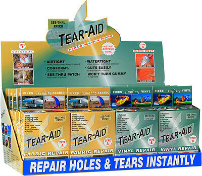 Tear Aid Type B - Vinyl Repair Kit - Aussie Stock - Free Shipping Oz Wide