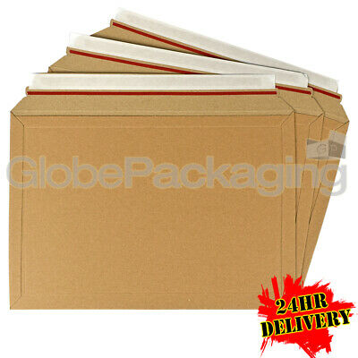 250 x A2 LIL RIGID ENVELOPES MAILERS A4 BOOKS DVD'S ETC 334x234mm - AMAZON STYLE