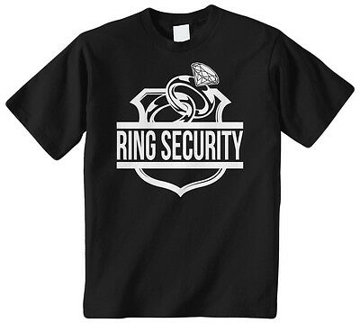 Ring Security Kids Youth Boys Girls T-Shirt Tee Child Marriage Family Funny