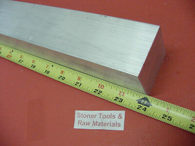 "1-3/4"" X 1-3/4"" ALUMINUM 6061 SQUARE FLAT BAR 24"" long T6511 1.750"" Solid Stock"