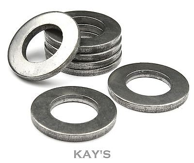 M4 Flat Thick Form A Washers Self Colour Steel Metric To Fit Our Bolts & Screws