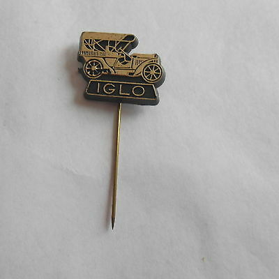 Neat Vintage Iglo Antique German Automobile Advertising Stick Pin Stickpin