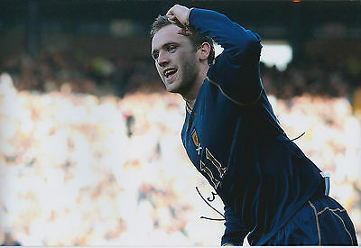 James McFADDEN SIGNED COA Autograph 12x8 Photo AFTAL Motherwell SCOTLAND