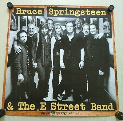 Bruce Springsteen / Original 2 sided Promo poster / Exc.+ new cond. / 24x24""