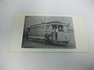 Vintage Card with Picture of OLD Duluth Minnesota Trolley Car