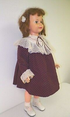 "Vintage 35"" Ideal Patty Patti Playpal Doll Red Hair Green Eyes G 35"