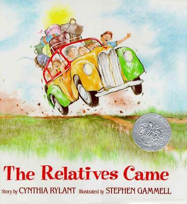 The Relatives Came by Cynthia Rylant (English) Hardcover Book Free Shipping!