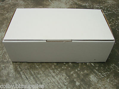 100x 500g Satchel Mailing Box 245x130x78mm Cardboard Carton