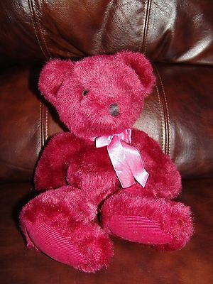 """Russ Berrie and Company Rhapsody the Cranberry Plush Beanie Doll 14"""""""