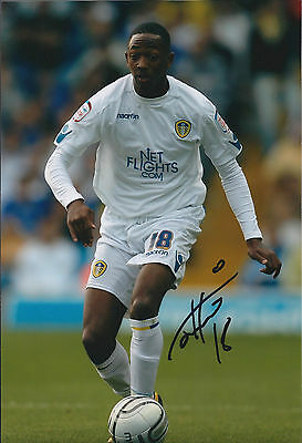 Sanchez WATT SIGNED COA Autograph 12x8 Photo AFTAL Leeds United Colchester