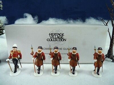 Dept 56 Dickens Village Yeomen of the Guard #58397  (a979)