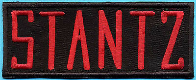 Ghostbusters Embroidered Iron-On Name Tag Patch - STANTZ
