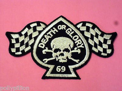 FUBAR MOTORCYCLE RIDER BIKER Embroidered sew on iron on patch  A146