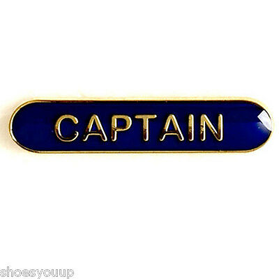 Captain Badge ideal for schools available in 4 colours (GW)