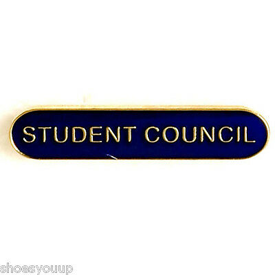 Student Council Badge ideal for schools available in 4 colours (GW)