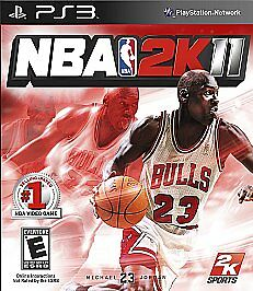 PS3 NBA 2K11 Video Game Move Compatible Full 1080p HD Official BasketBall Action