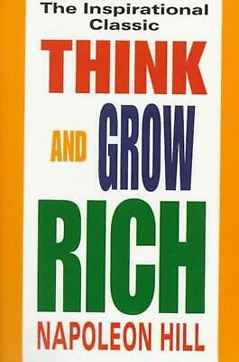 Think and Grow Rich by Napoleon Hill (English) Paperback Book Free Shipping!