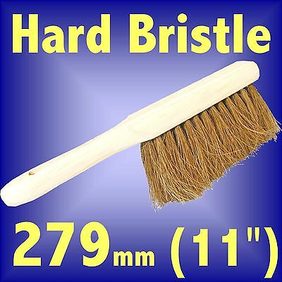 Silverline Stiff Coco Bristle Hand Brush 279mm 11 fireplace sweep ashes hard