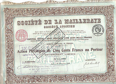 coupon code limited guantity online retailer FRANCE, 1920, SOCIETE Anonyme des Cargos- Bond Certificate ...