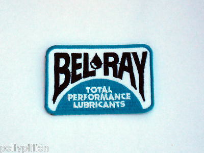 Motor Racing Rally Nascar Sew/iron On Patch:- Bel Ray Performance Lubricants