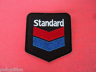 Motor Racing Rally Nascar Sew/iron On Patch:- Standard Oil Gas Fuel