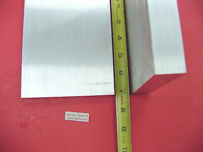 """2 Pieces 1"""" X 5"""" ALUMINUM 6061 FLAT BAR 7"""" long SOLID New 1.00"""" PLATE Mill Stock"""