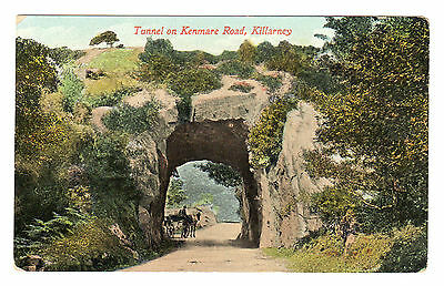 Tunnel On Kenmare Rd - Killarney Photo Postcard c1910