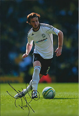 John BRAYFORD SIGNED 12x8 Photo AFTAL Autograph COA Derby County Authentic