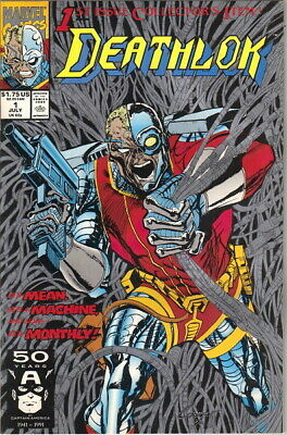Deathlok Comic Book #1, Marvel 1991 NEW UNREAD