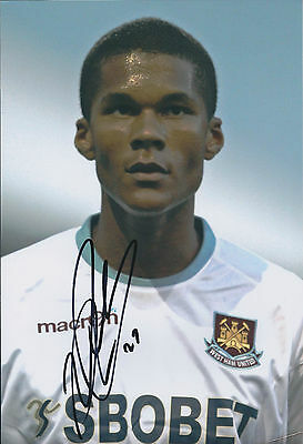 Jordan SPENCE SIGNED COA Autograph 12x8 Photo AFTAL West Ham United Authentic