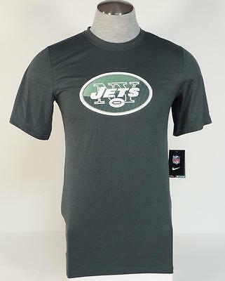 7476e56d0 Nike NFL Team Apparel Dri Fit New York Jets Green Athletic Shirt Mens NWT