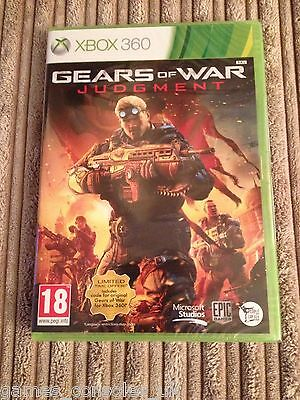 Xbox 360 Gears Of War Judgment Game New And Sealed Judgement Gow