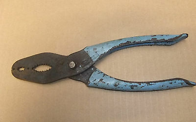 """Ex-Military 'Footprint' Motor Cone Pliers Approx 8"""" In Length"""