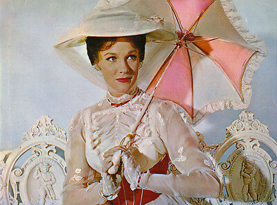 JULIE ANDREWS MARY POPPINS 8X10 GLOSSY PHOTO PICTURE