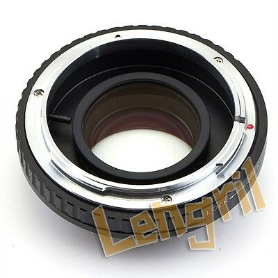 Focal Reducer Speed Booster adapter Canon FD Lens to Micro 4/3 Panasonic Olympus