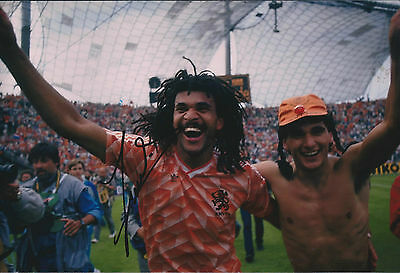 Ruud GULLIT Signed Autograph 12x8 Photo AFTAL COA European Footballer
