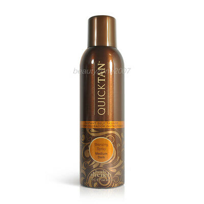Body Drench Quick Tan Bronzing Spray Medium Dark 170g 6 oz Sunless Tanner