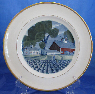 The Red Barn Adams China May Dinner Plate