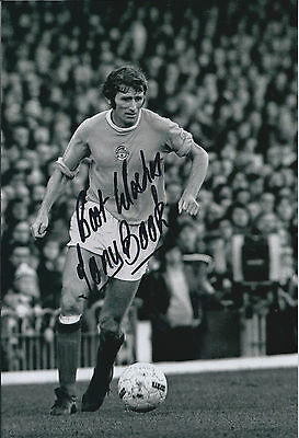 Tony BOOK Signed Autograph 12x8 Photo AFTAL COA Manchester City Cup WINNER
