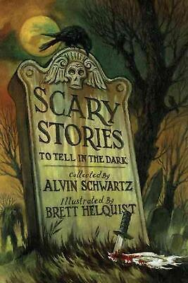 Scary Stories to Tell in the Dark by Alvin Schwartz (English) Hardcover Book Fre