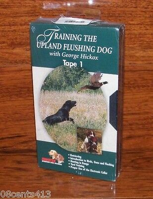 Training The Upland Flushing Dog With Georgr Hickox (VHS) Tape 1 **Only**