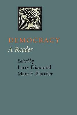 Democracy: A Reader by Larry Diamond (English) Paperback Book Free Shipping!