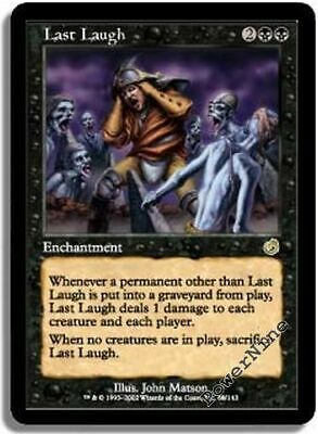 Last Laugh MTG TORMENT