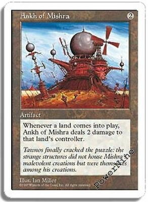 1 Ankh of Mishra = Artifact Fifth 5th Edition Mtg Magic Rare 1x x1
