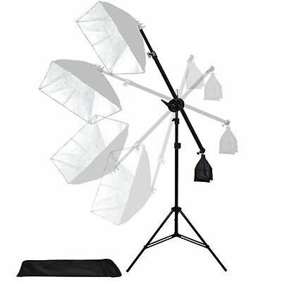 Photo Studio Arm Bar With Lighting Boom Photography Light Stand Boom